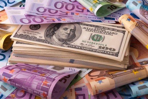 Evri in dolarji
