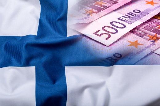 Denar in finska zastava
