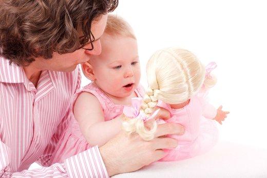 Oče s hčerko