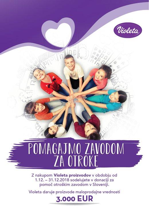 Pomoč zavodom za otroke