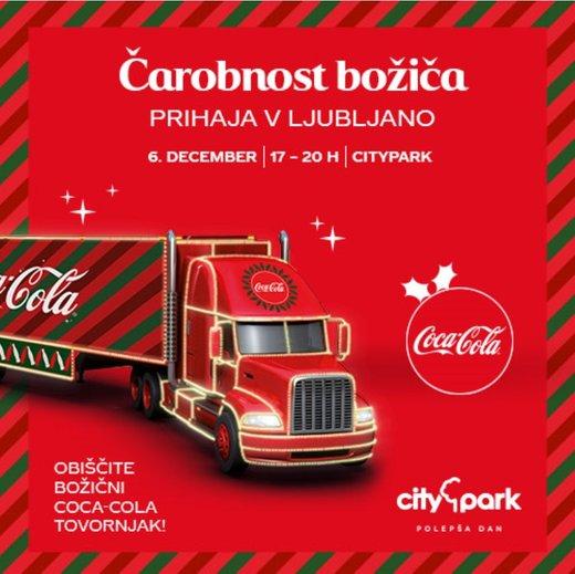 božični tovornjak Coca-Cola