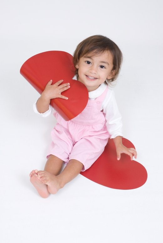 Deklica z velikim srcem