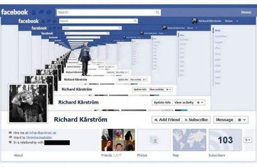 Facebook - časovnica - 2
