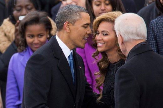 Barack Obama in Beyonce