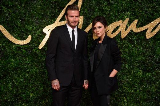 David in Victoria Beckham