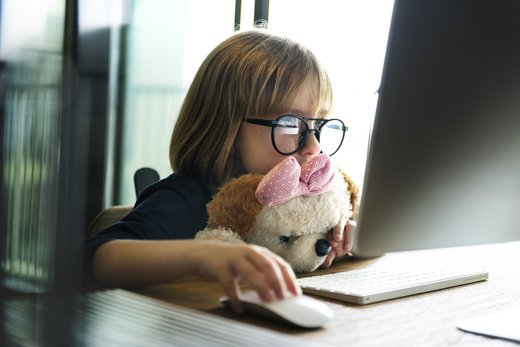 Internet in otroci