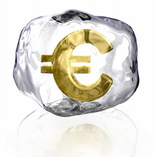 evro v ledu