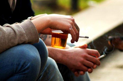 Alkohol in cigarete