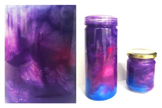 vesolje v steklenici