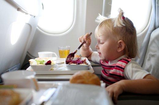 Otrok na letalu