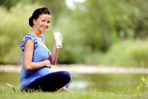 Zdrava nosečnica