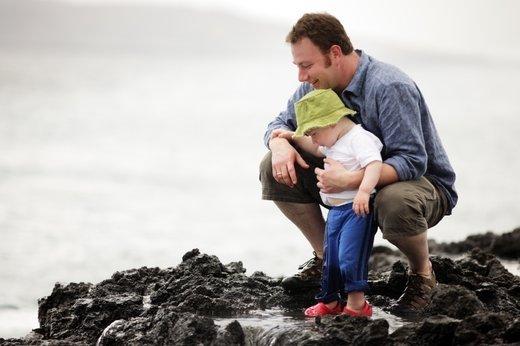 očka s sinom