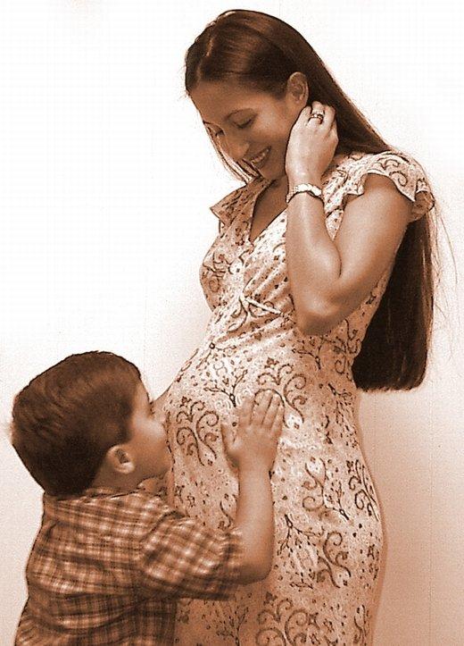 Mama in otrok