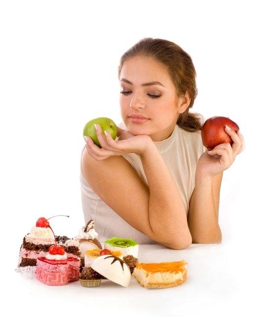 Ženska in hrana