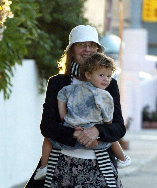 Diane Keaton s sinom