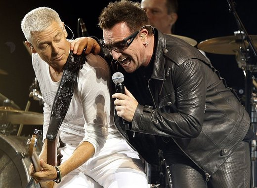 Adam Clayton in Bono