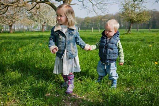 Z otrokom v hribe