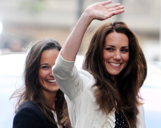 Kate in Pippa Middleton