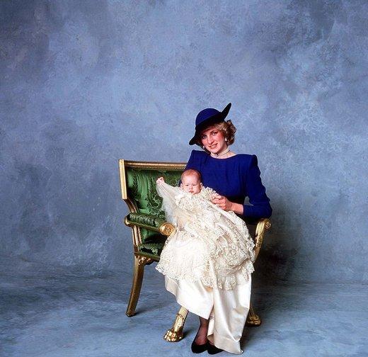 Princ Harry in Diana
