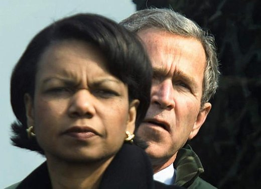 Condolezza Rice in George W. Bush