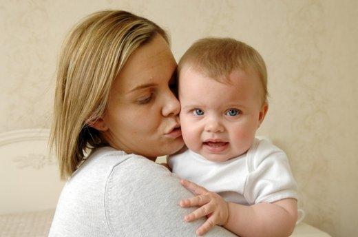 Mamica in otrok