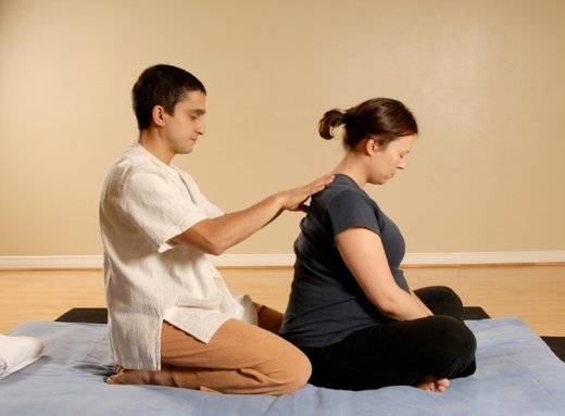 Masaža nosečnice