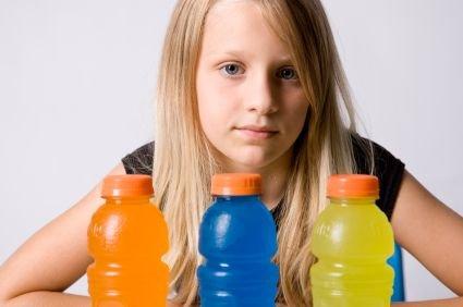Energijska pijača in otrok