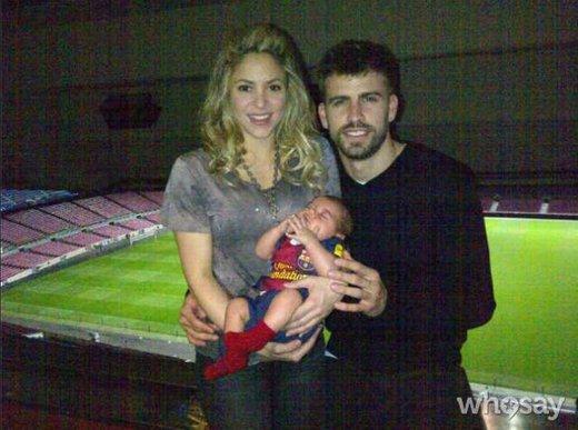 Shakira, Gerard Pique in Milan