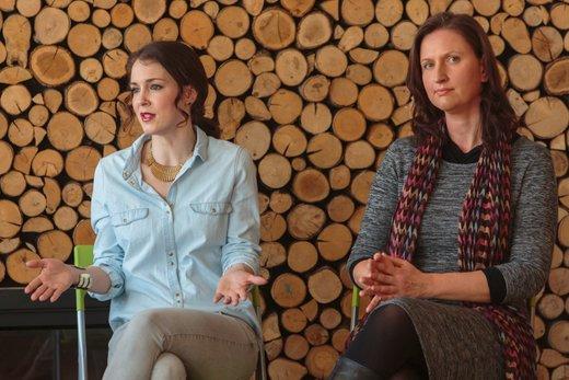 Lili Žagar in Karla Klander