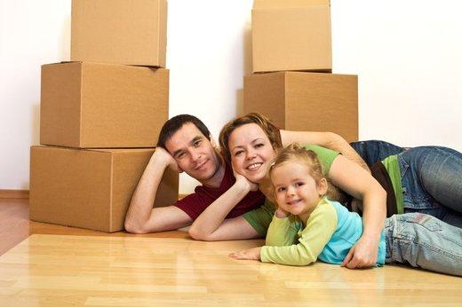 Družina kupila stanovanje