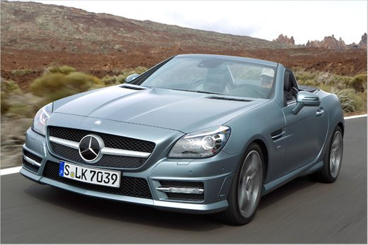 mercedes 350 slk