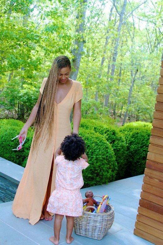 Beyonce s hčerko Blue Ivy - 3