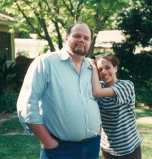 Meghan in oče