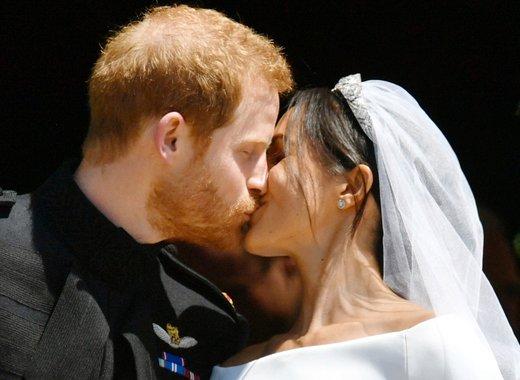 Prvi poljub Meghan in Harryja