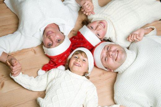 Družina in božič