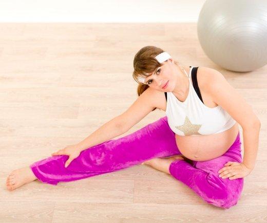 Pilates za nosečnice - 1