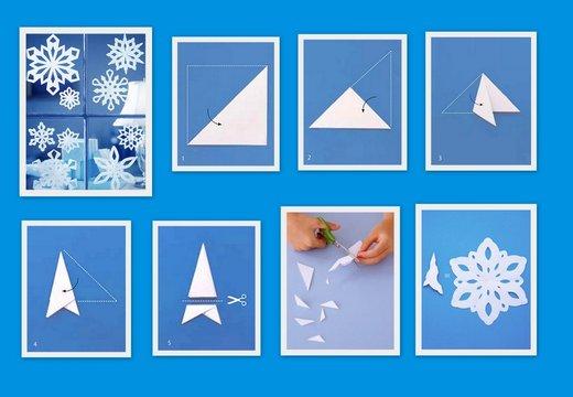 Papirnata snežinka