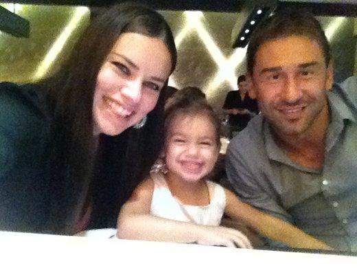 Adriana Lima z družino