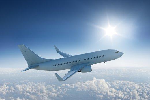 Letalo v zraku