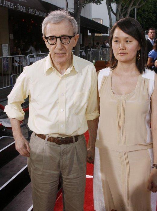 Woody Allen in Soon-Yi Previn