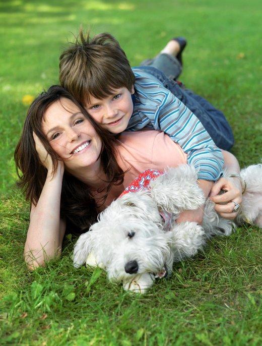 Mati in sin s psom