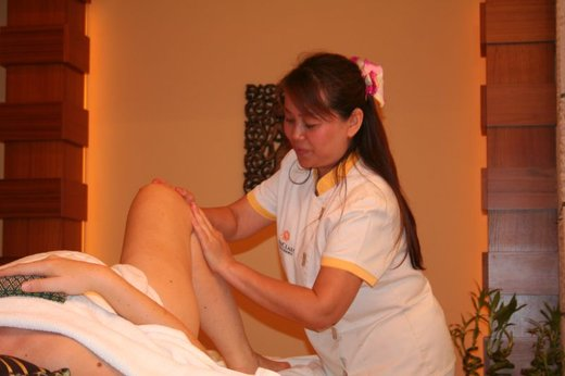 Tajska masaža nosečnice