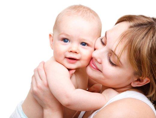 Mamica in dojenček