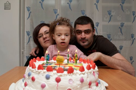 Ela s staršema