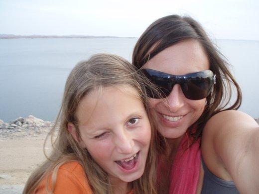 Tina Gorenjak s hčerko Nino