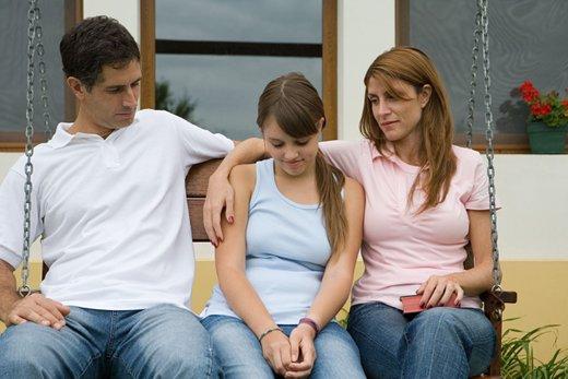 Najstnik in starši