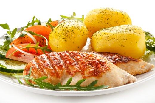 Krompir in meso