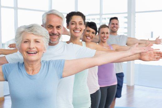Telovadba starejši