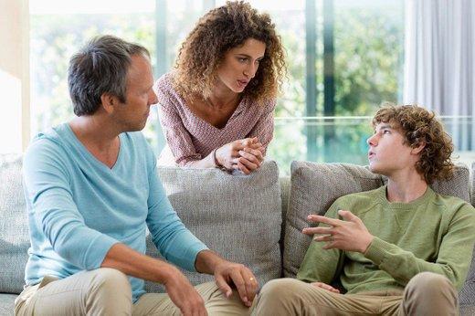 Starši in najstnik