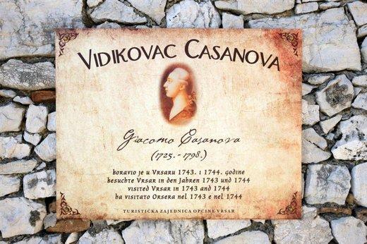 Casanova v Vrsarju